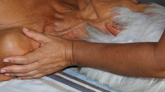 Massage aux huiles